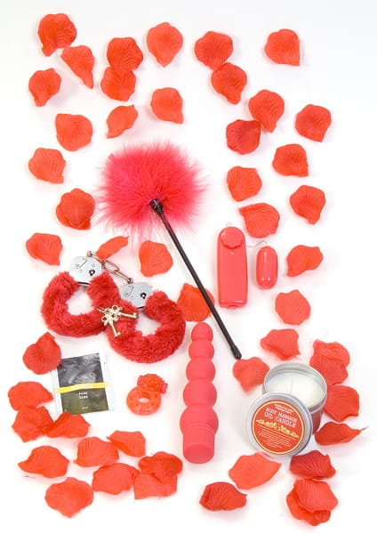 Coffret Red Romance Gift Set Cad'Oh! Idées cadeaux sexy Oh! Darling
