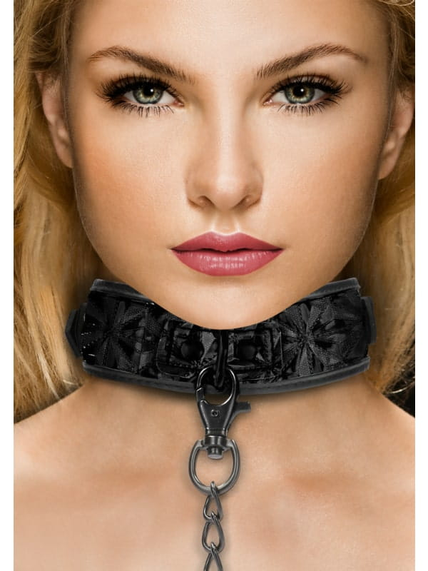 Collier et Laisse Luxury Ouch BDSM Accessoire Oh! Darling