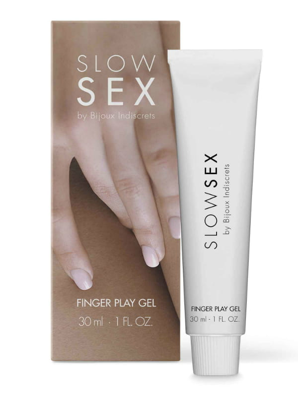 Gel de masturbation Finger Play Slow Sex Bijoux Indiscrets Bien-être Massage intime Oh! Darling