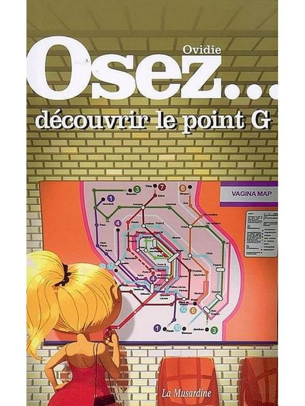 Osez découvrir le point G Cul'turel Collection Osez Oh! Darling