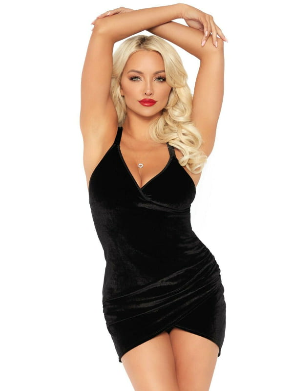 Robe en velours Lisa Leg Avenue Lingerie Robes & Jupes Oh! Darling