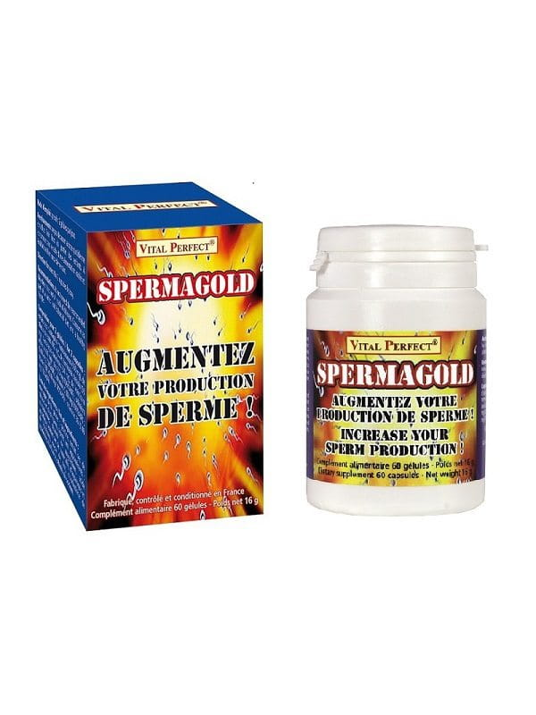 Spermagold Vital Perfect Aphrodisiaque Pour plus de plaisir Oh! Darling