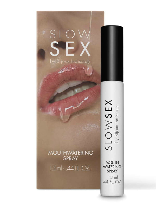 Spray activateur de salive Slow Sex Bijoux Indiscrets Aphrodisiaque Plus de plaisir et de libido Oh! Darling