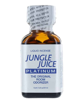 Poppers Jungle Juice Platinum 25ml Aphrodisiaque Poppers Oh! Darling