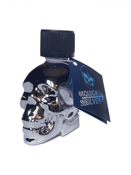 Poppers Quick silver Skull 24ml Aphrodisiaque Poppers Oh! Darling